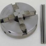 "Sherline 4-Jaw Self-centering 2.5"" diameter chuck P/N 1075"
