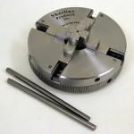 "Sherline 4-Jaw Self-centering 3.1"" diameter chuck P/N 1076."