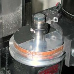 A CNC-machined spindle drawbar remover