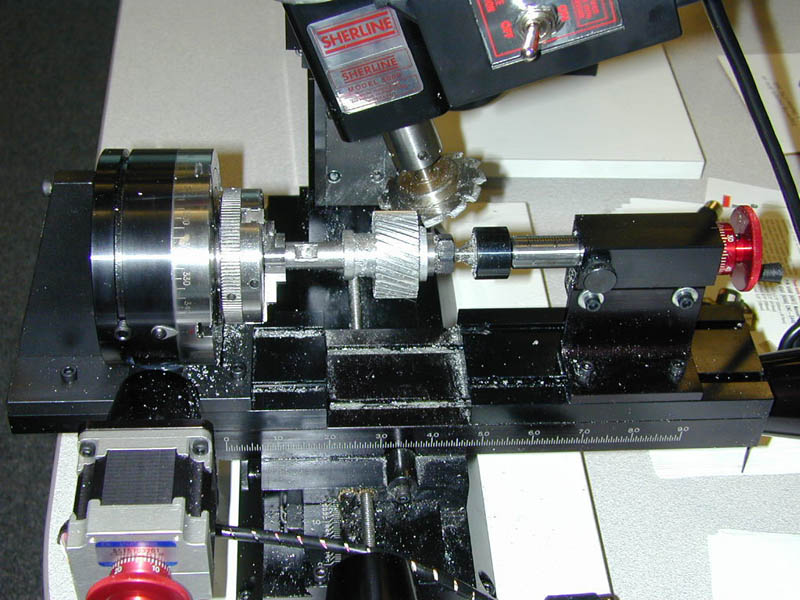 Cutting A Helical Gear By Joe Martin Millhill Supplies Ltd